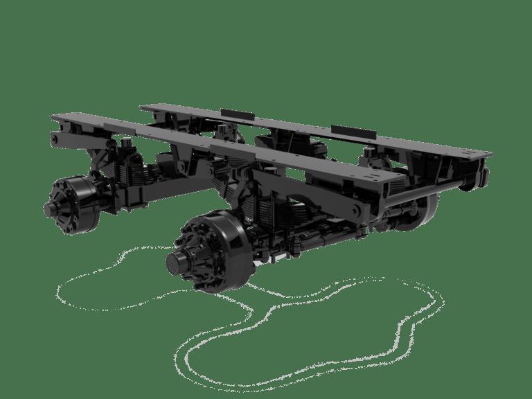 tim gsv forage trailer bogie axle