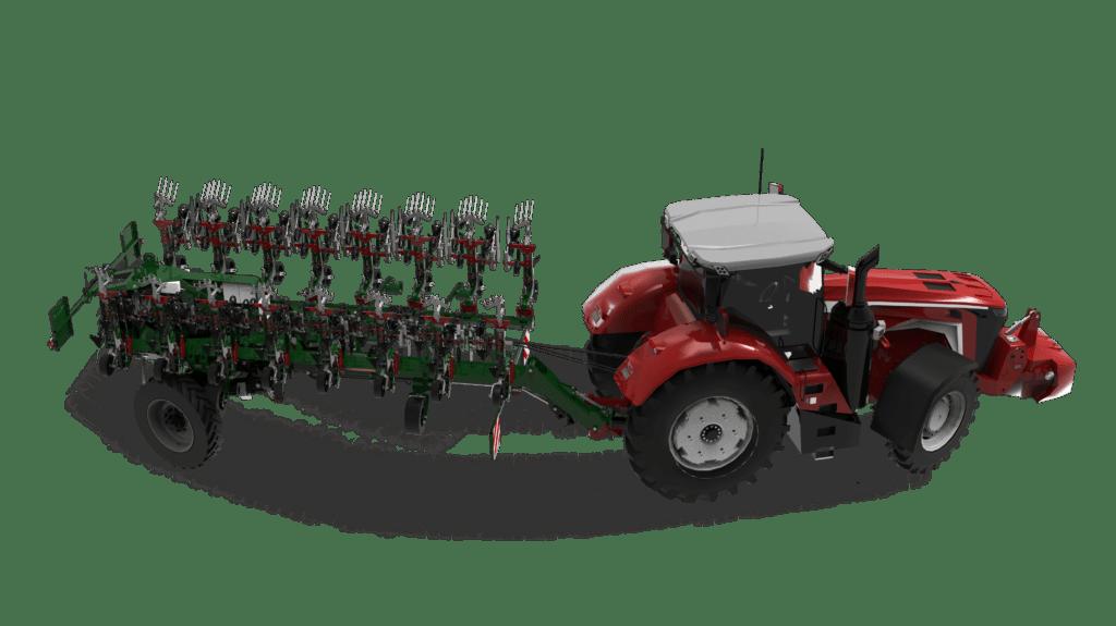trv swingking inter row cultivator john deere wheel steering