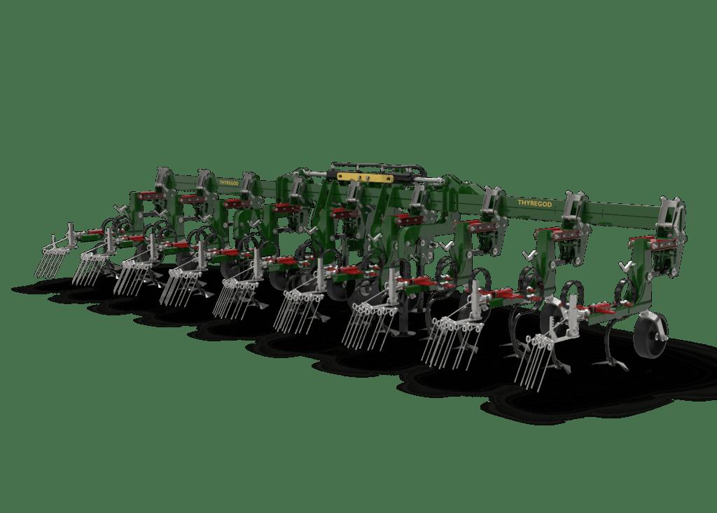 TRV Farmer radrenser inter row cultivator hackmaschine