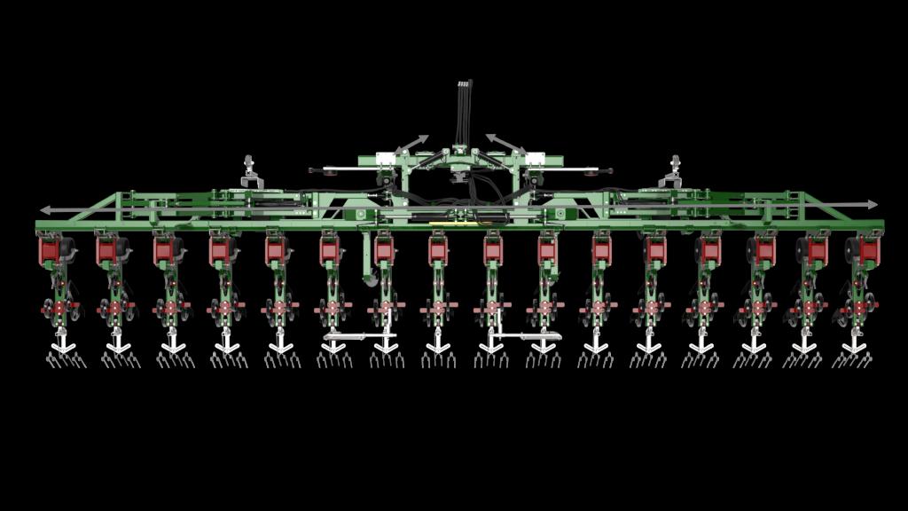 thyregod trv hackmaschine radrenser inter row cultivator